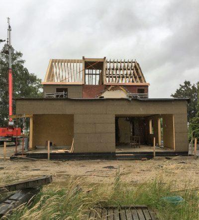 Houtskeletbouw - Decock Renovatie Mechelen - Dakconstructies